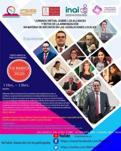 Jornada Virtual sobre los Alcances y Retos de la Armonización en materia de Archivos en las Legislaciones Locales