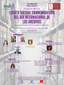 Evento Conmemorativo del día internacional de los archivos 2020_Programa