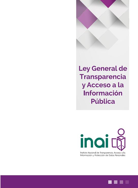 Ley General de Transparencia y Acceso a la Información Pública